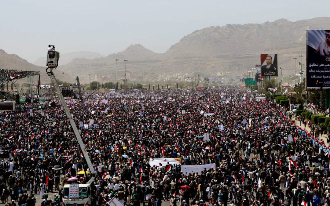 The Forgotten War in Yemen aimed at the the Houthi.