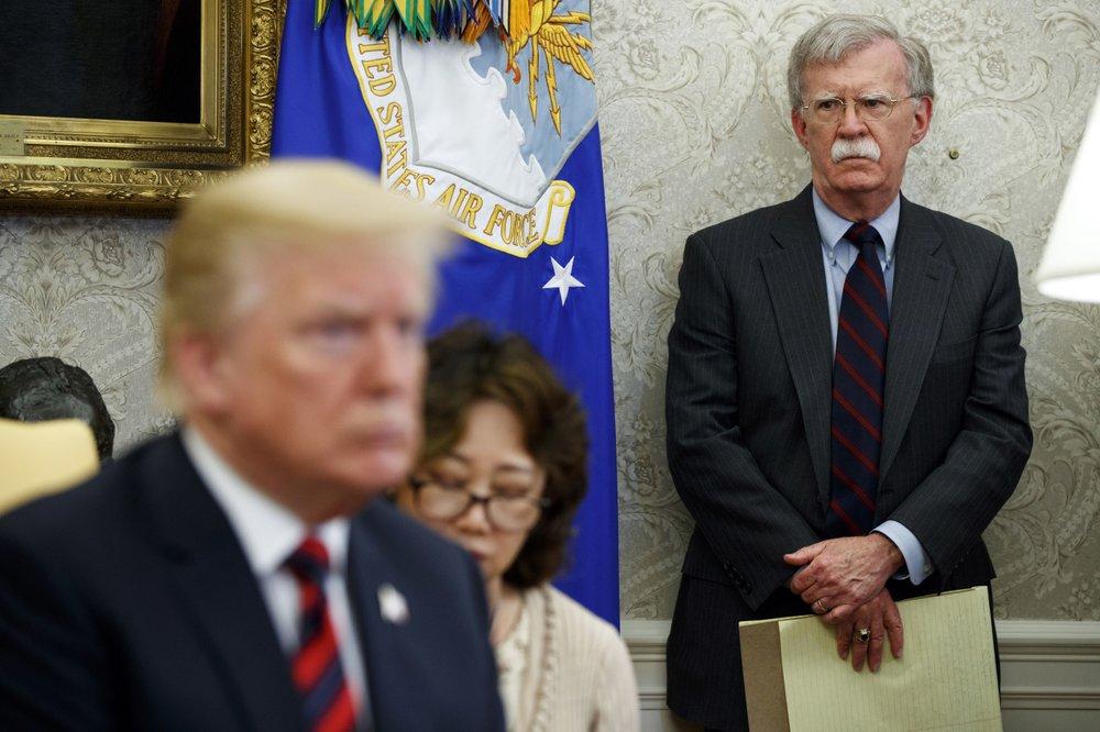 Trump dismisses John Bolton