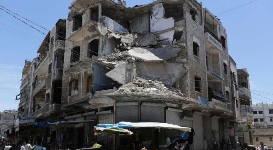 Russia says US strikes Syria's Idlib, puts ceasefire at risk