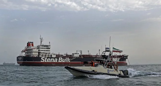 Iran seizes ship for alleged fuel smuggling in Gulf, holds 12 Filipino crew