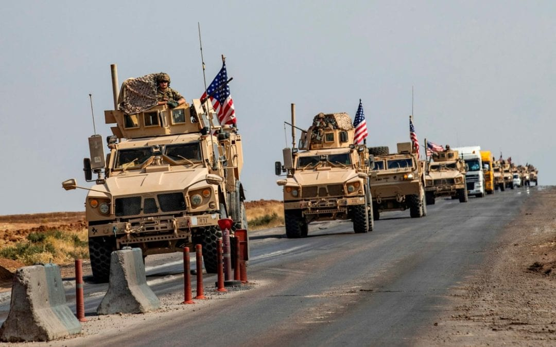US Deploying More Troops Around Syria Oil Fields
