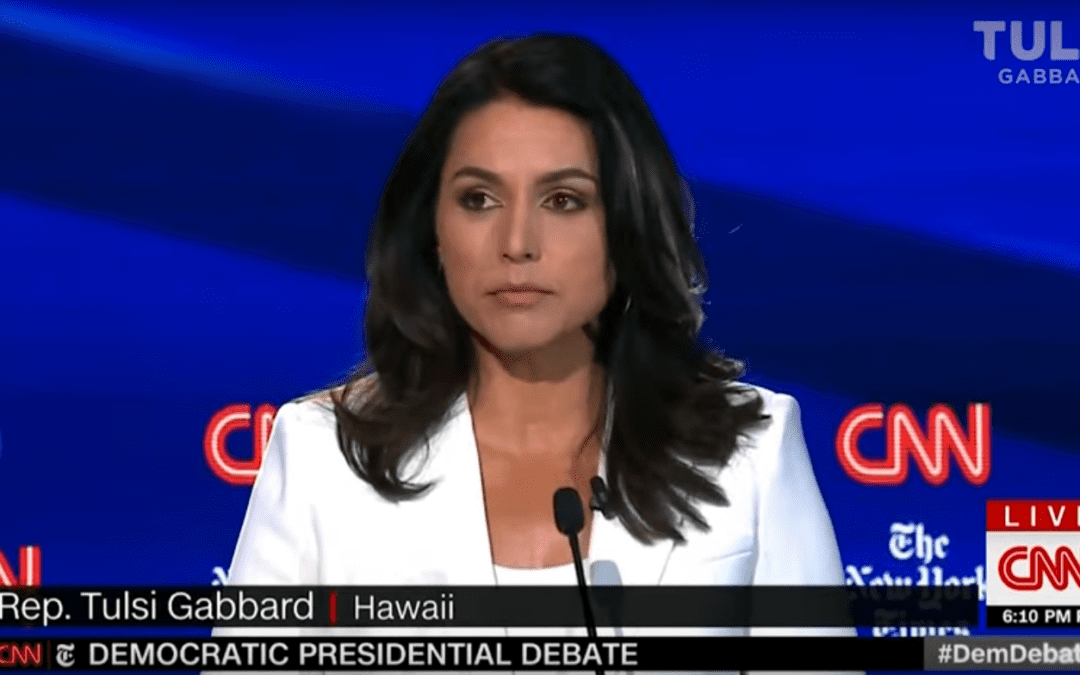 Rep. Tulsi Gabbard Reveals The US Armed Terrorists In Syria And No One Disputes Her!