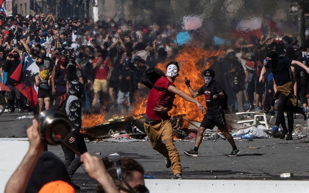 An Explosion Of Protest, A Howl Of Rage In Latin American